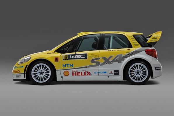2008 Suzuki SX4 WRC