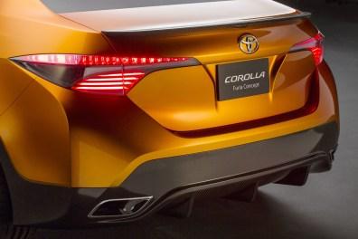 2013 Toyota Corolla Furia Concept