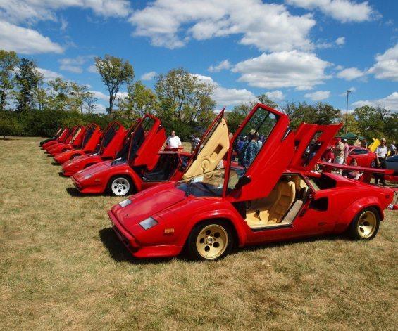 1982→1985 Lamborghini Countach LP5000S