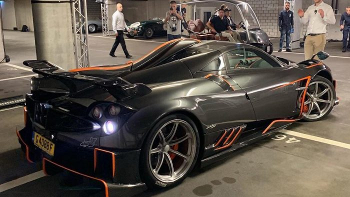 The Pagani Huayra Imola Is The First Of The Dragon Models