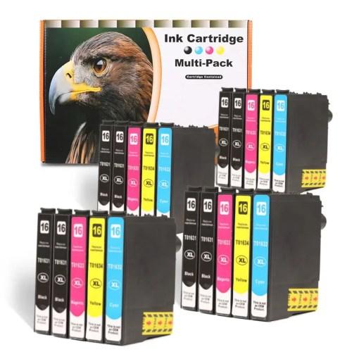 16XL Multipack voor Epson van 20 inktpatronen