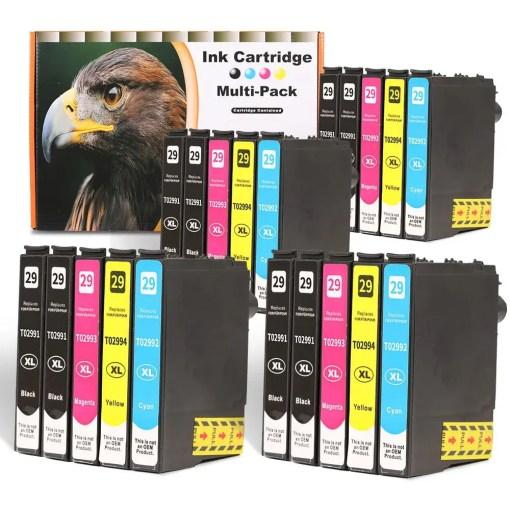 29XL Multipack voor Epson van 20 inktpatronen
