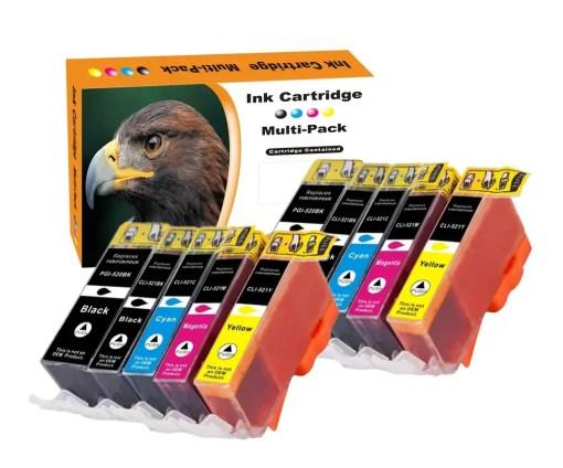 CLI551 PGI550 Multipack voor Canon van 10 inktpatronen
