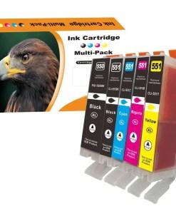 CLI551 PGI550 Multipack voor Canon van 5 inktpatronen