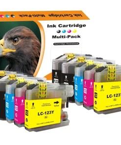 LC123 Multipack voor Brother van 10 inktpatronen