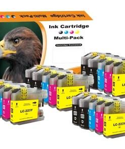 LC223 Multipack voor Brother van 20 inktpatronen
