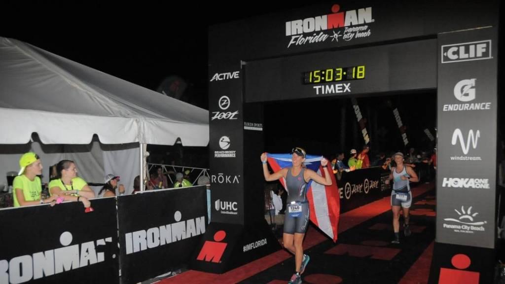 Marietta Roberts Ironman Florida Finish