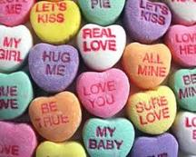 Candy heart candy
