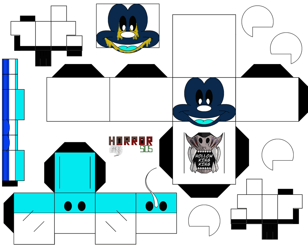 Mickey Abandoned From Five Nights At Treasure Island Paper