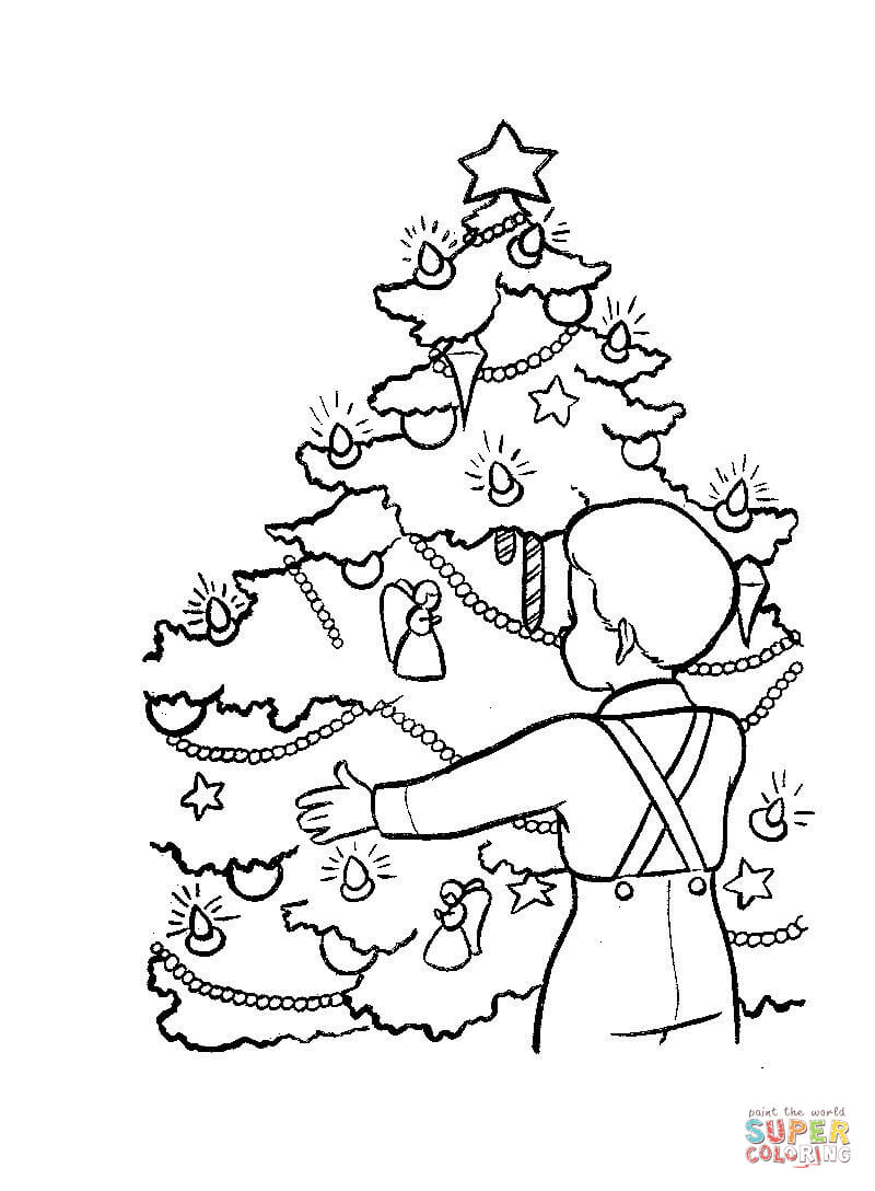 Christmas In France Coloring Page Free Printable Coloring Pages