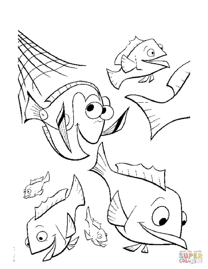 nemo coloring page free coloring pages download xsibe monsters inc