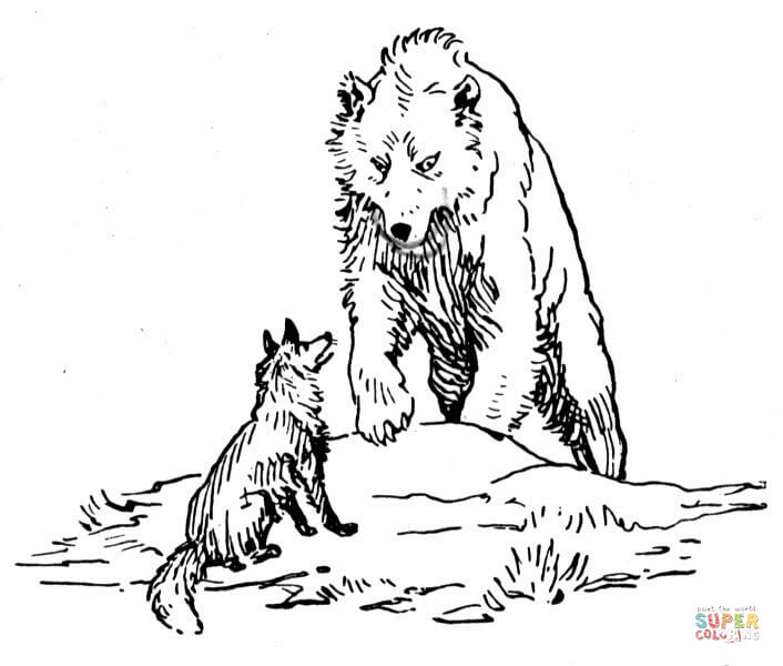 brown bears coloring pages free coloring pages