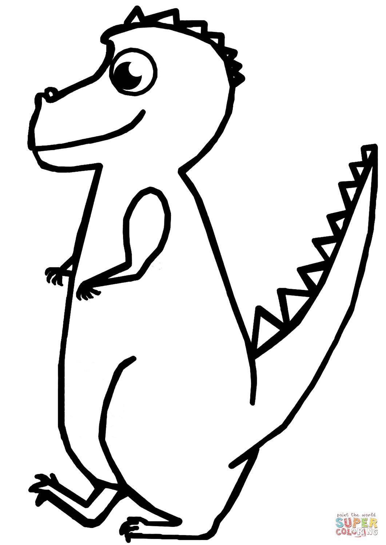 Tyrannosaurus Illustration Tegninger