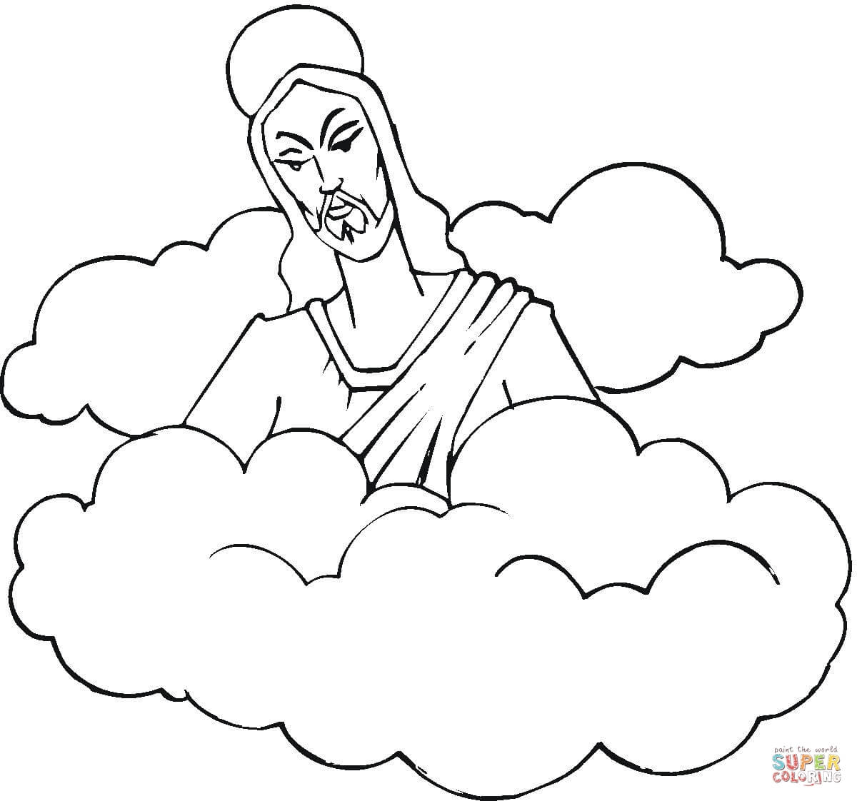 jesus resurrection coloring pages free coloring pages