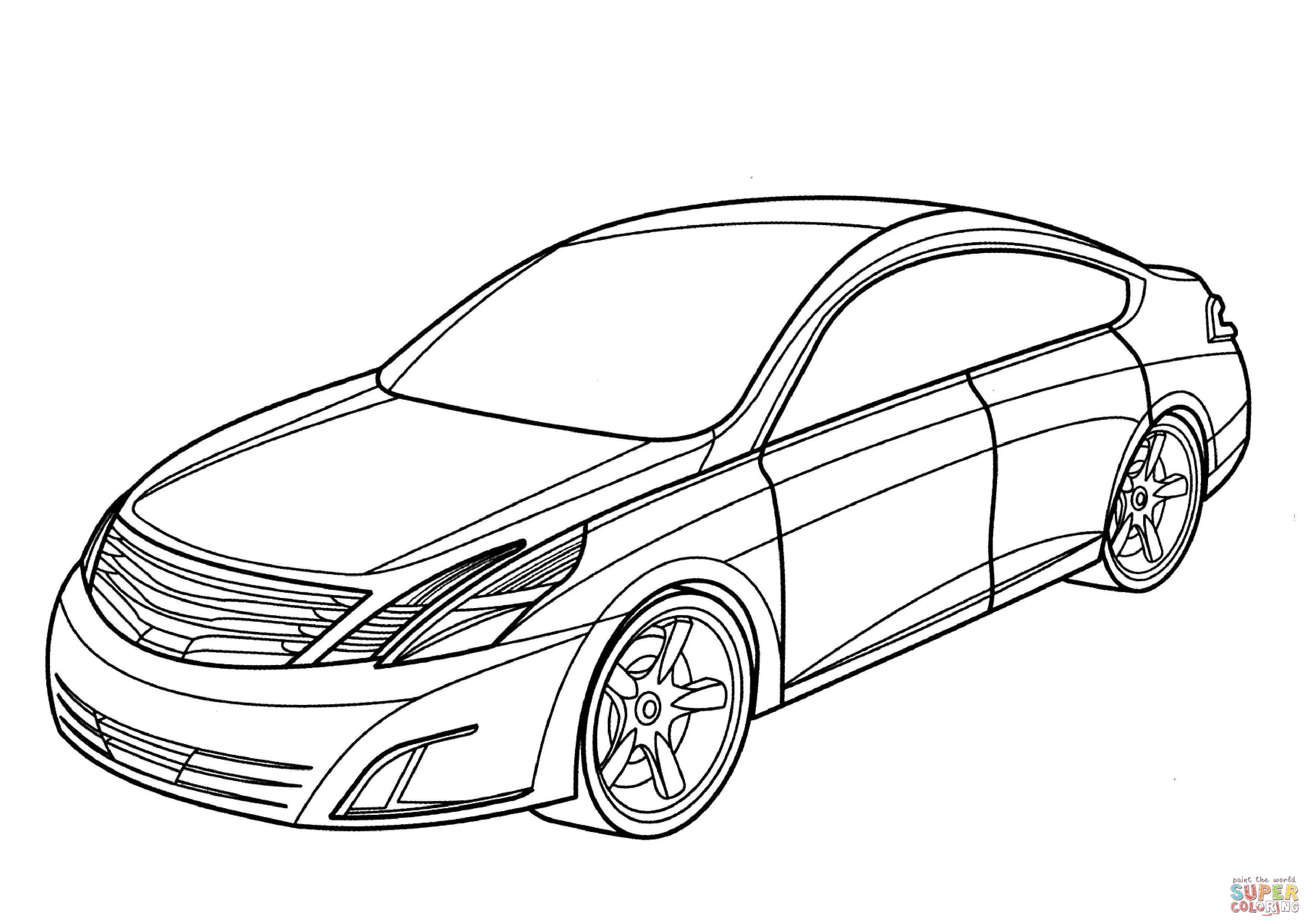 Nissan Skyline Gtr R32 Drawing Sketch Coloring Page