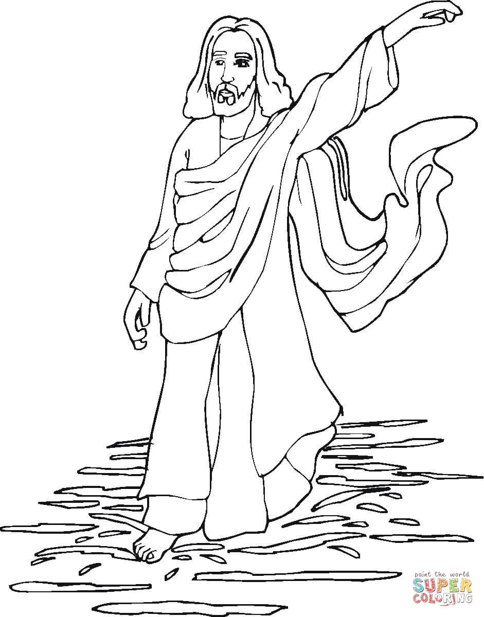 miracles of jesus coloring page free printable coloring pages