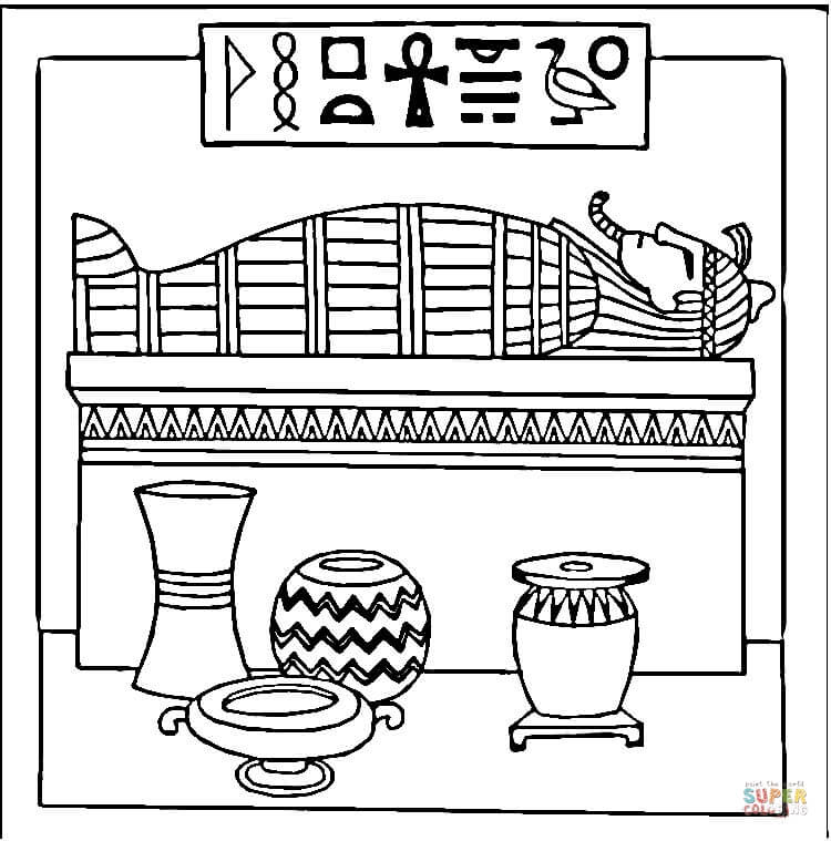 Egypt Coloring Page (With images) | Coloring pages, Geography ... | 759x750