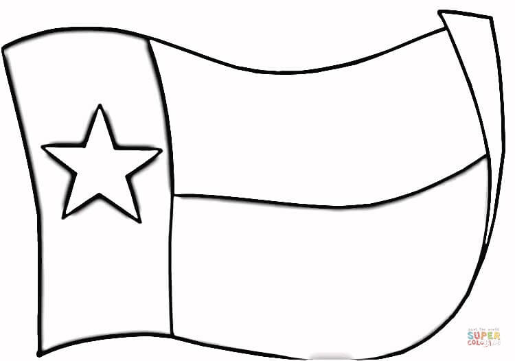 texas flag coloring page free printable coloring pages