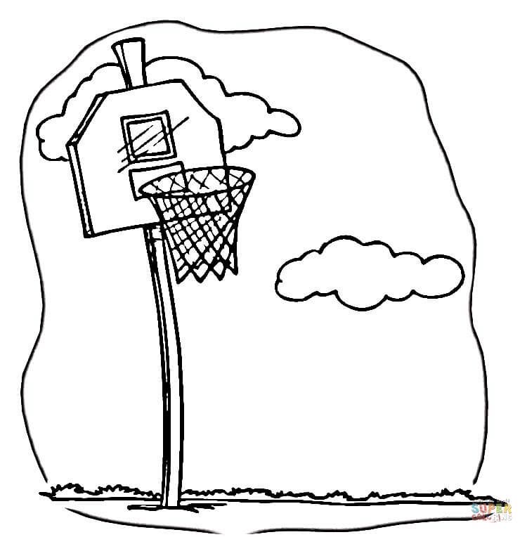 basketball coloring pages free coloring pages