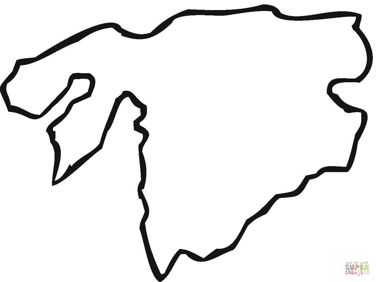 map of africa coloring page free printable coloring pages