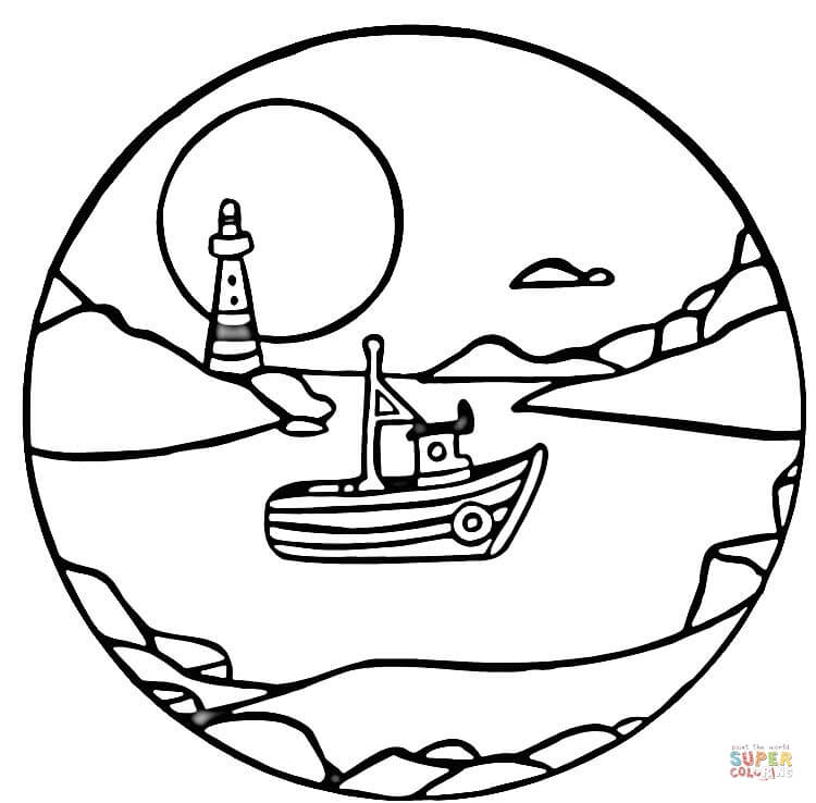 full moon coloring page free printable coloring pages