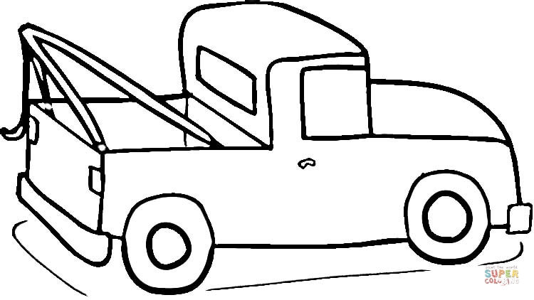 Truck Coloring Pages For Kids Free Printable Worksheets Semi – Runjmc | 422x750