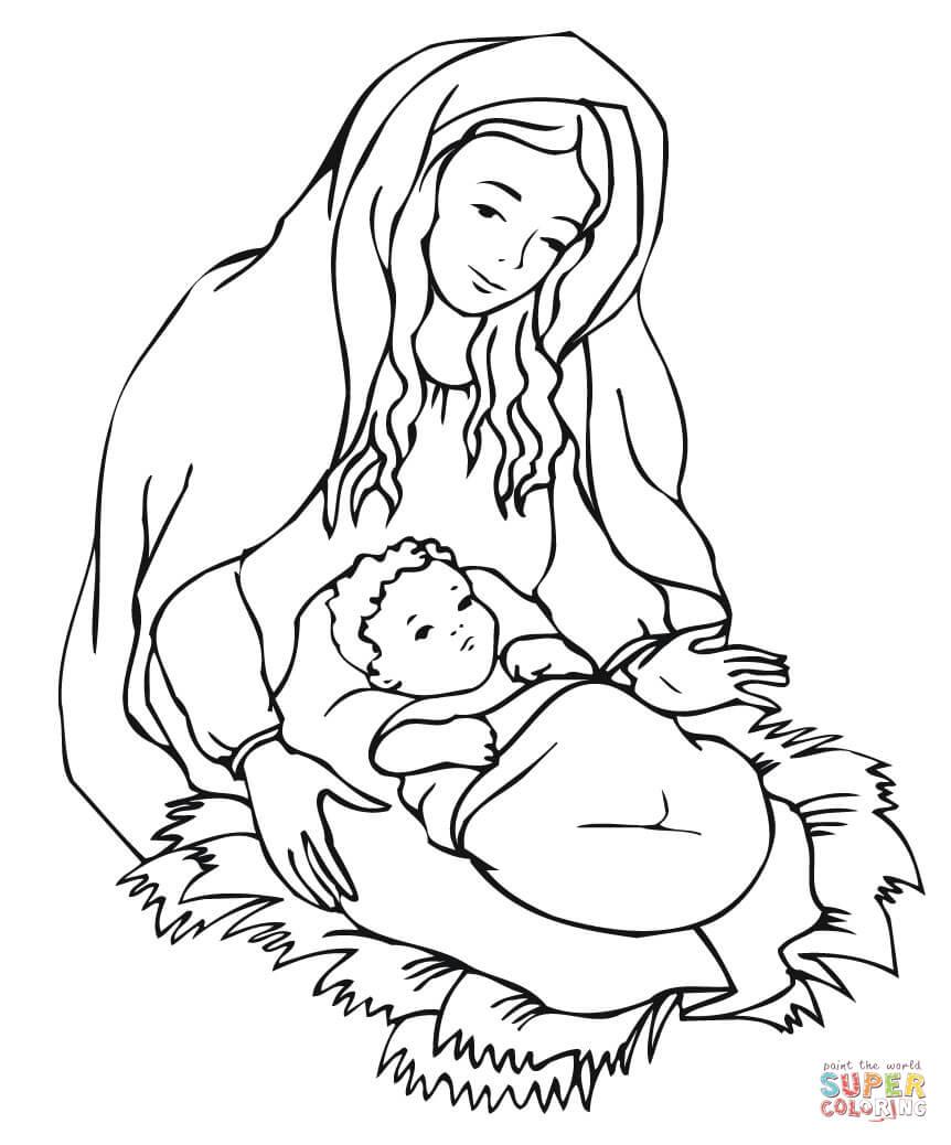 baby jesus in der krippe baby jesus josef und maria maria und josef