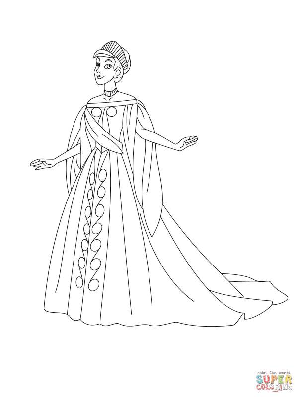 anastasia coloring pages # 1