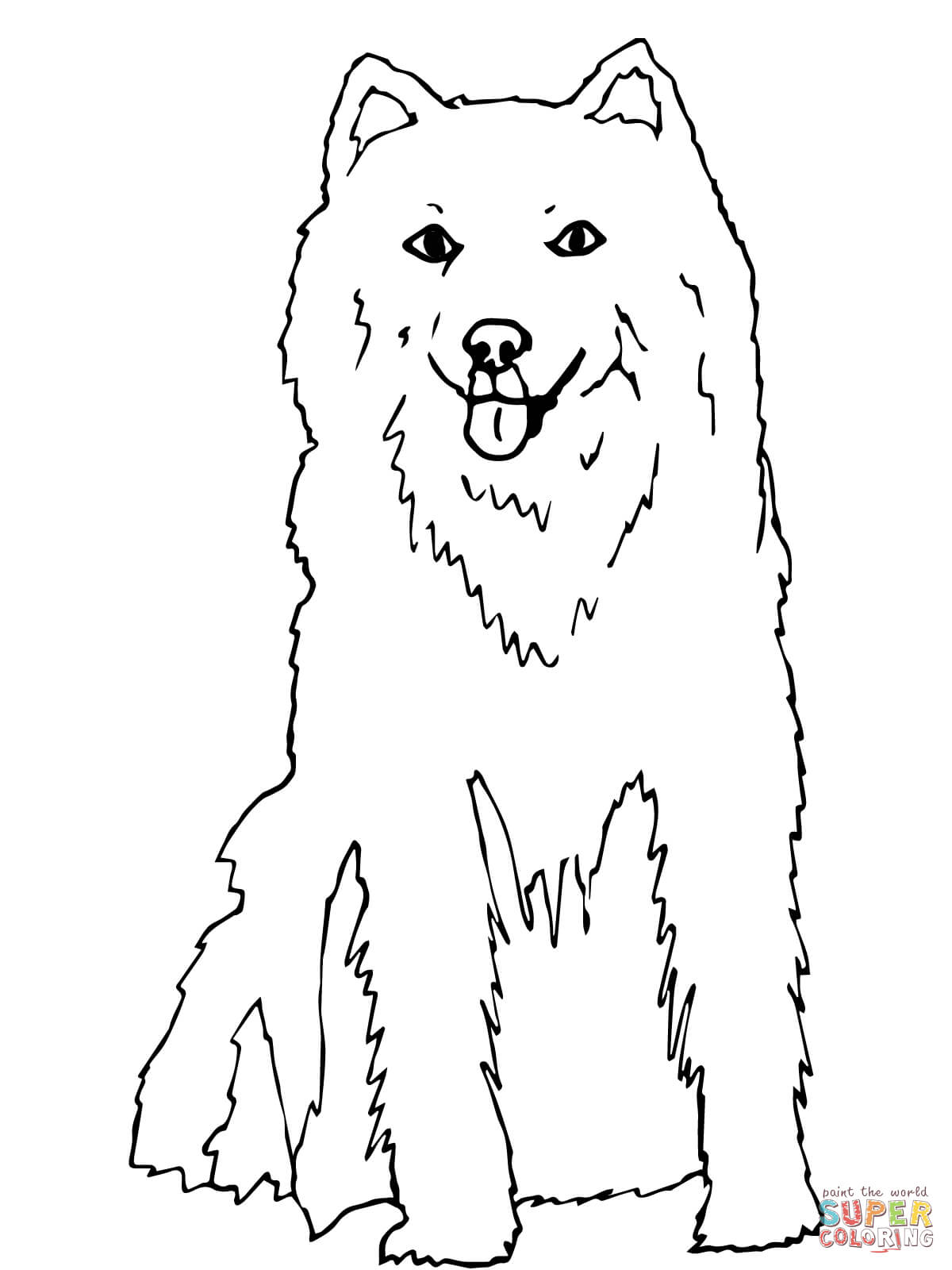 husky coloring page free printable coloring pages