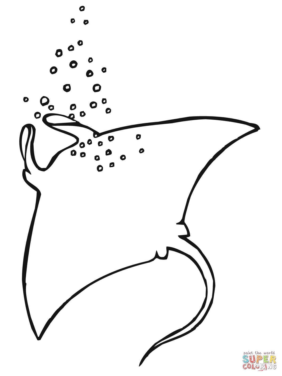 ray coloring pages free coloring pages