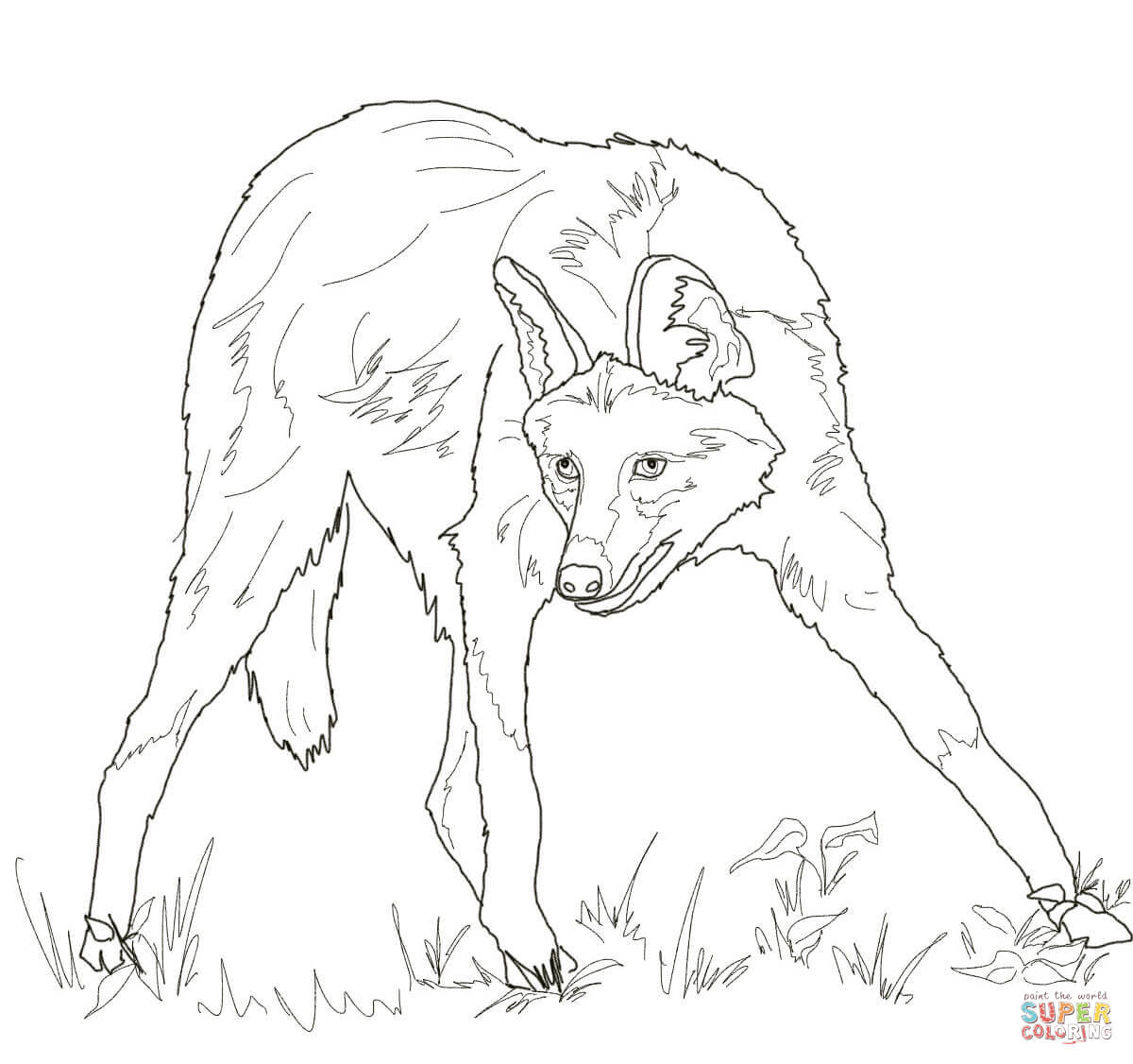 coloring wolf faces coloring pages