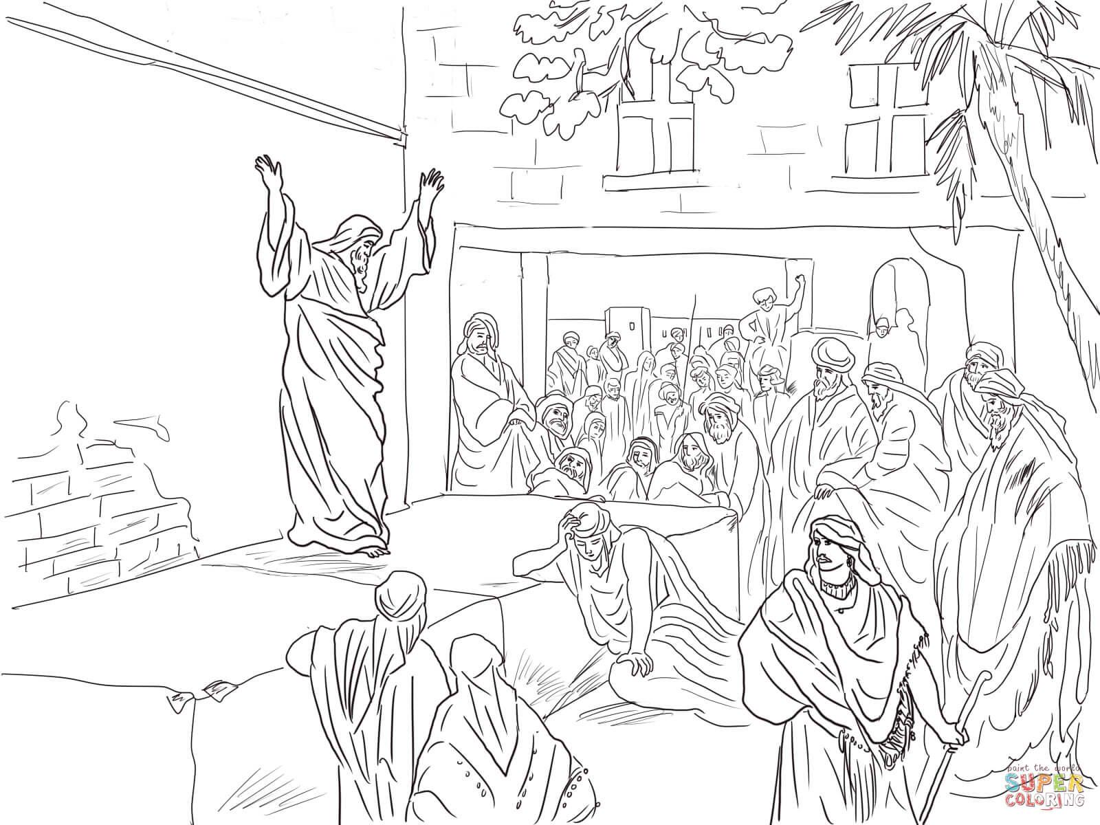Micah Haggai Malacchi And Zechariah Coloring Page Free