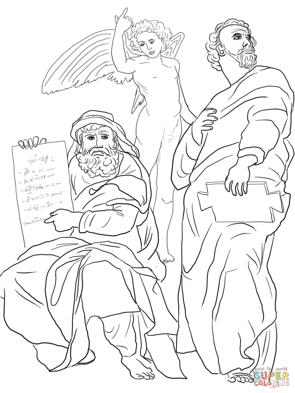 The Prophets Hosea And Jonah Coloring Page