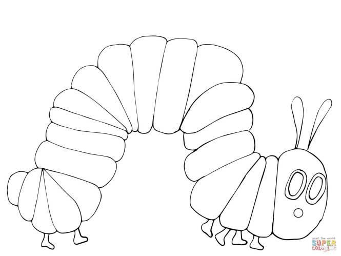 Click The Very Hungry Caterpillar Coloring Pages