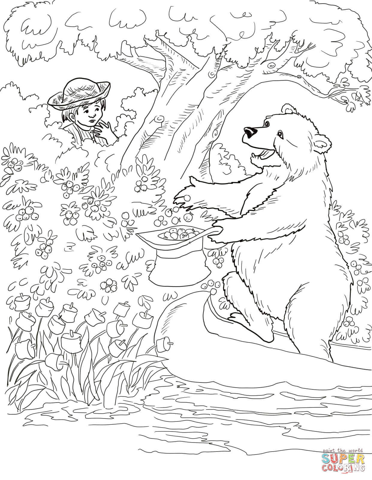 Jamberry Coloring Page