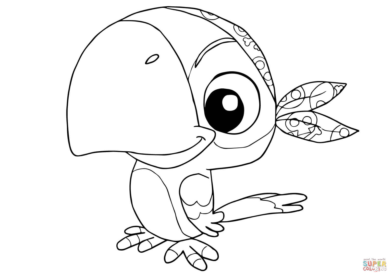 Skully From Jake And The Neverland Pirates Coloring Page