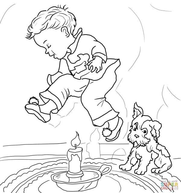 nursery rhymes coloring pages # 8