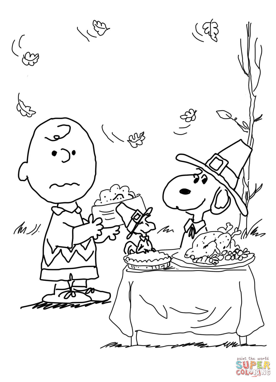 brown thanksgiving coloring page free printable coloring pages