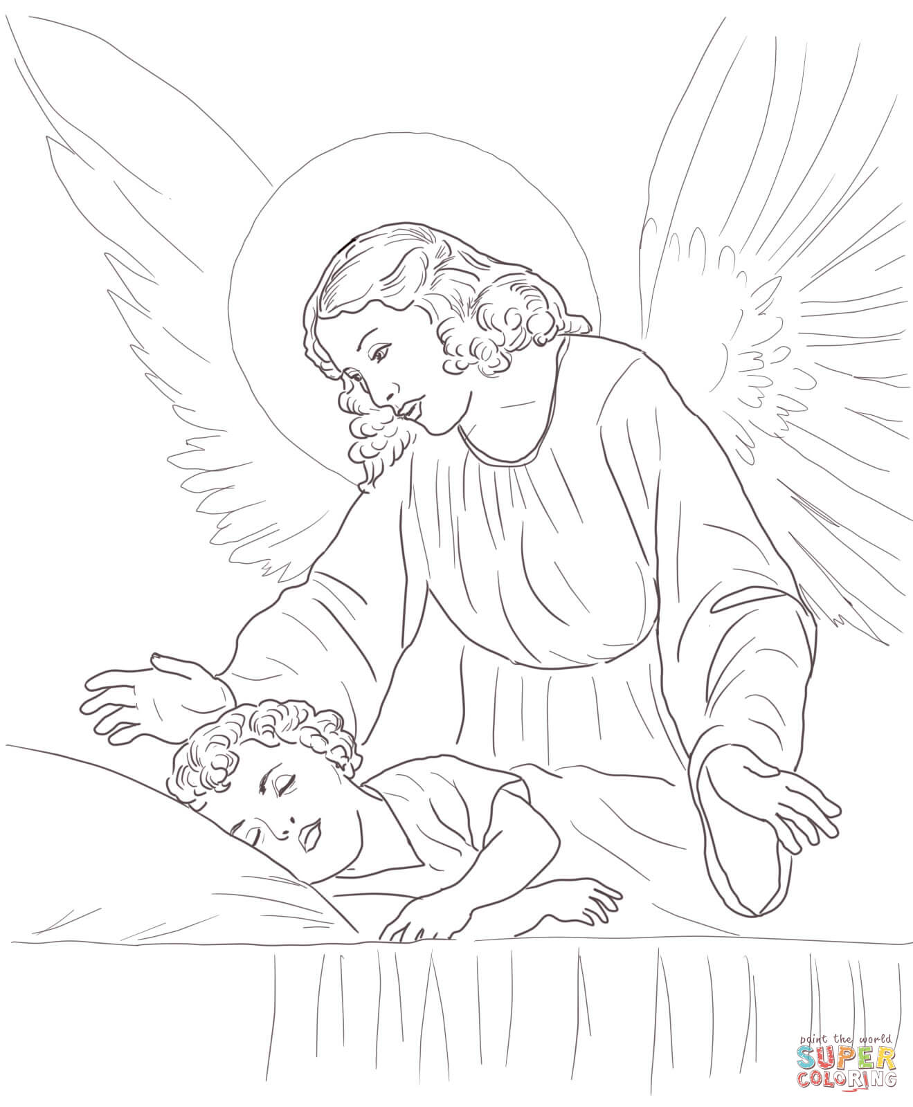 mary free christmas angel coloring pages bing images bordados sheet ...