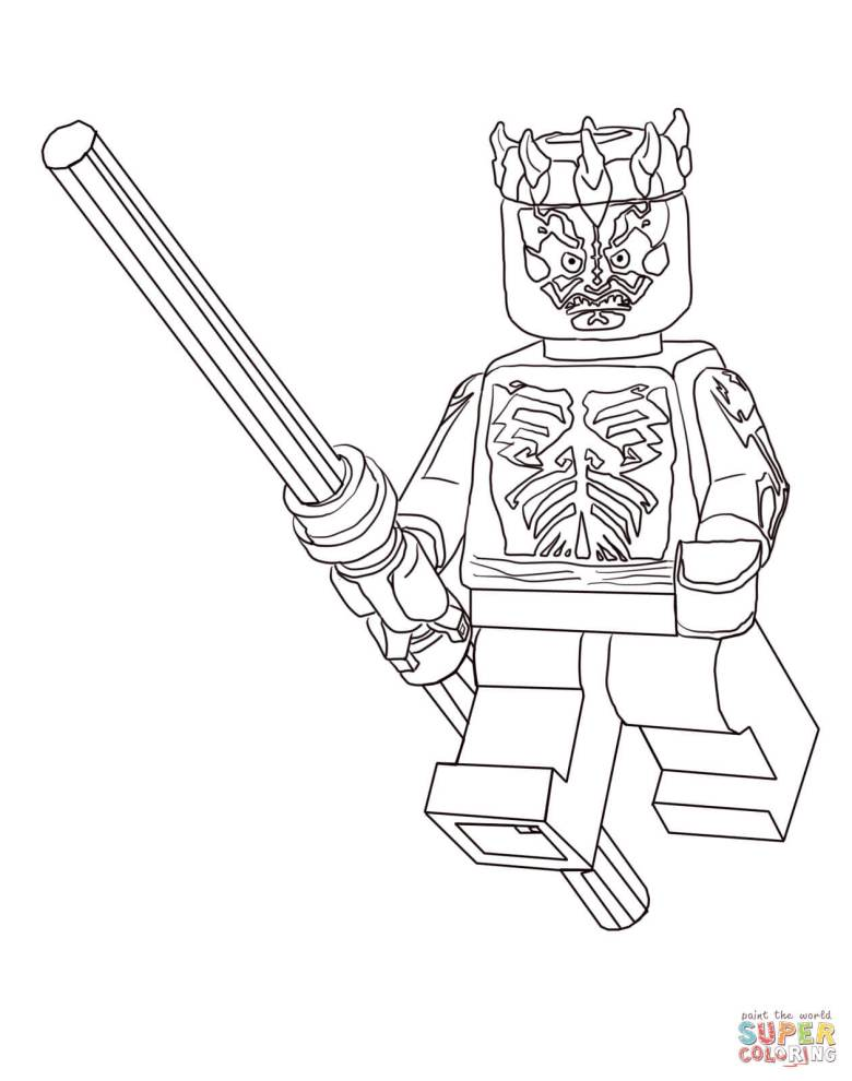 lego star wars clone christmas coloring page | free printable