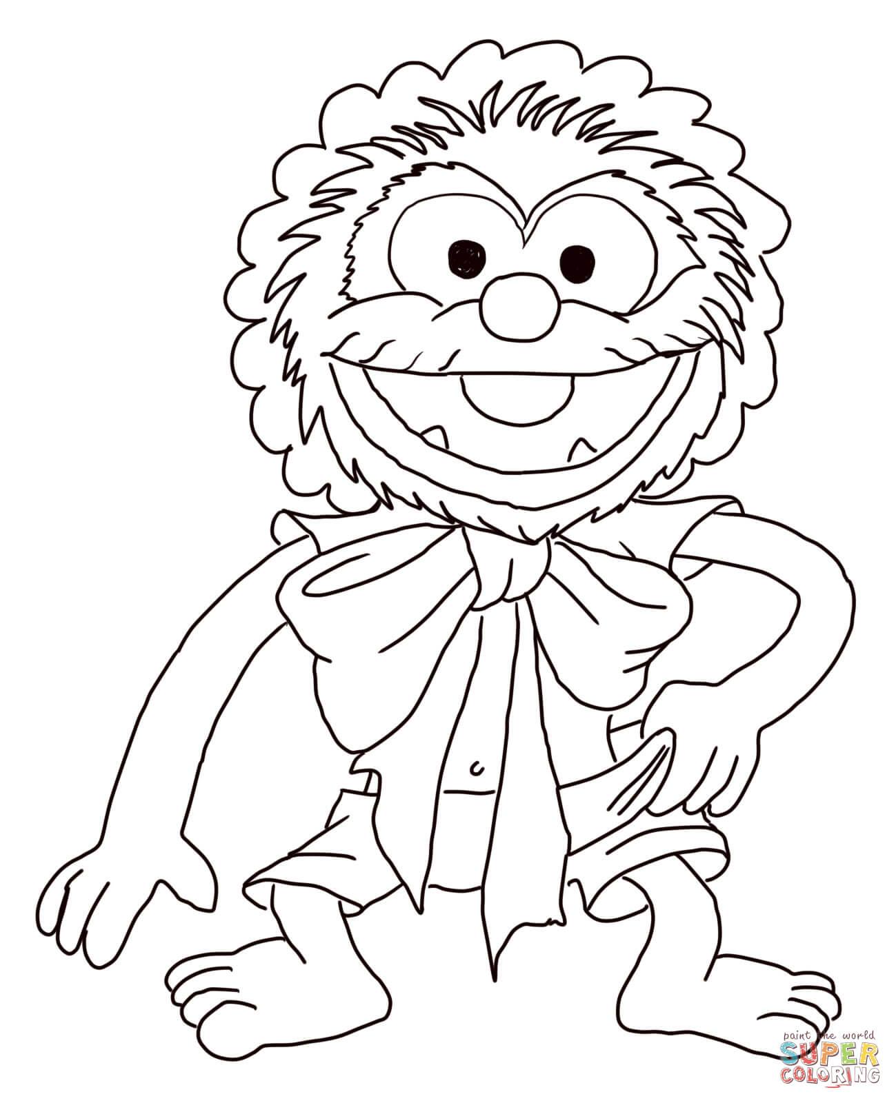 muppet supercoloring com