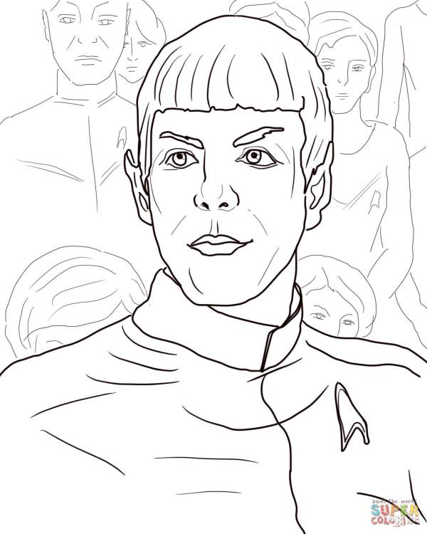 star trek coloring pages # 5