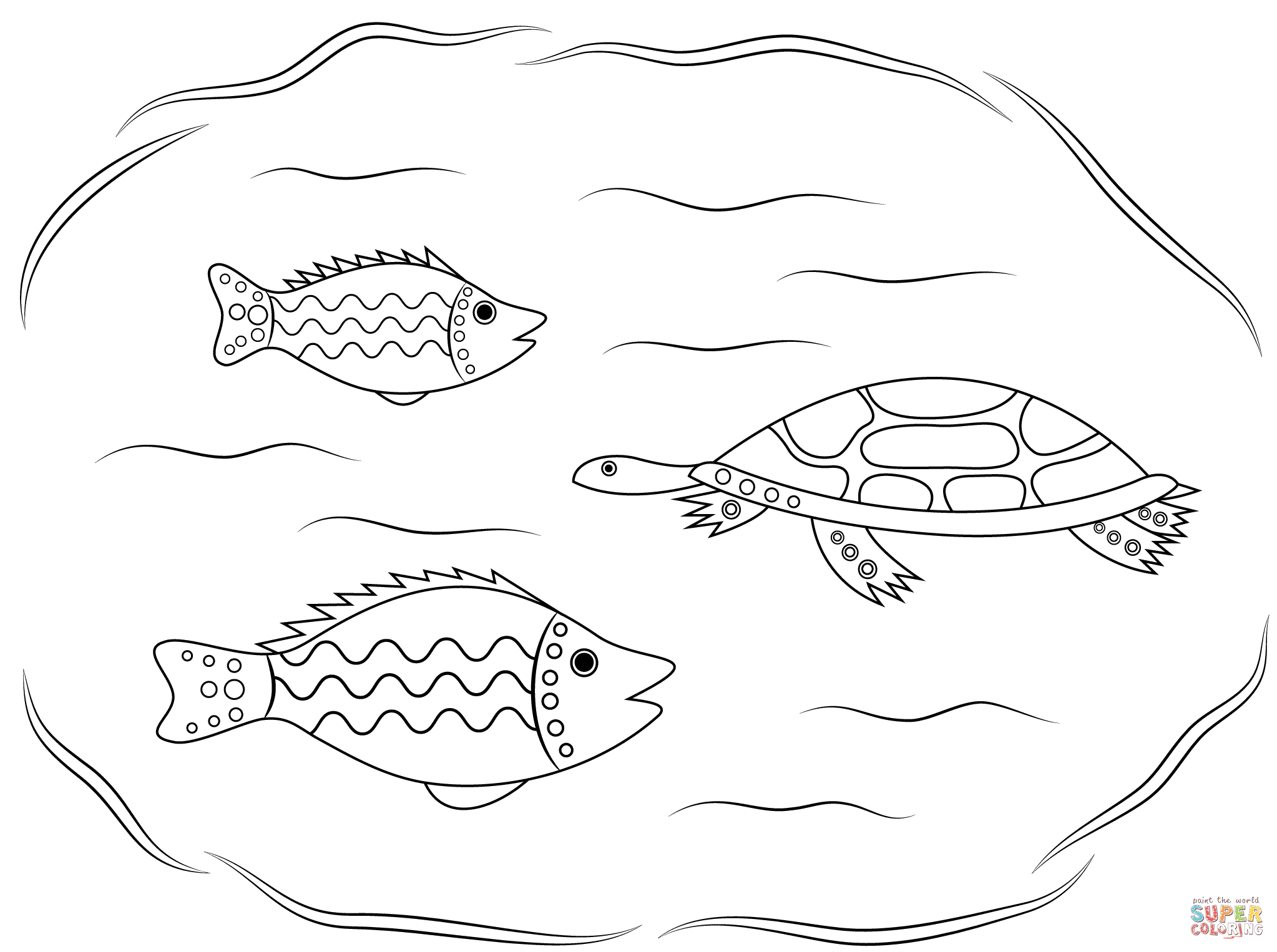 Aboriginal Coloring Pages