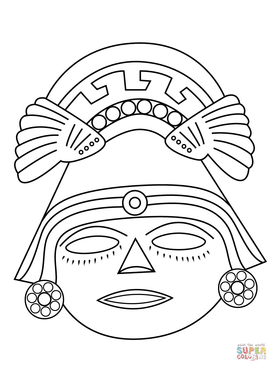 aztec mask template.html