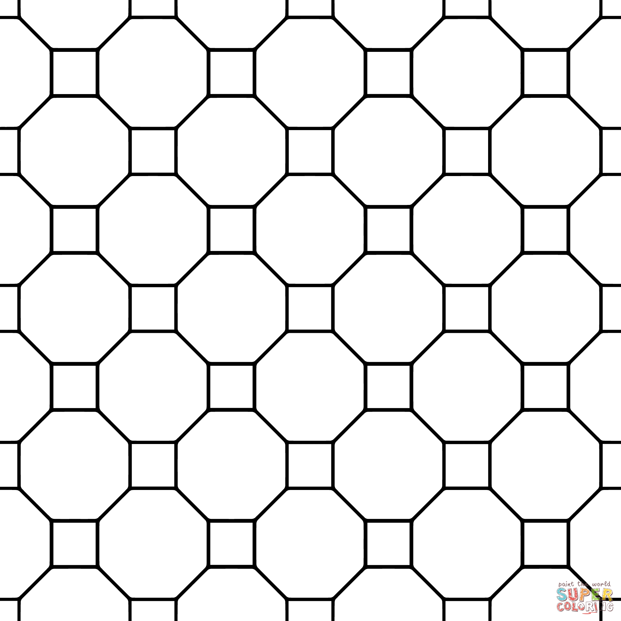 Tessellations Worksheets Coloring Pages Coloring Pages