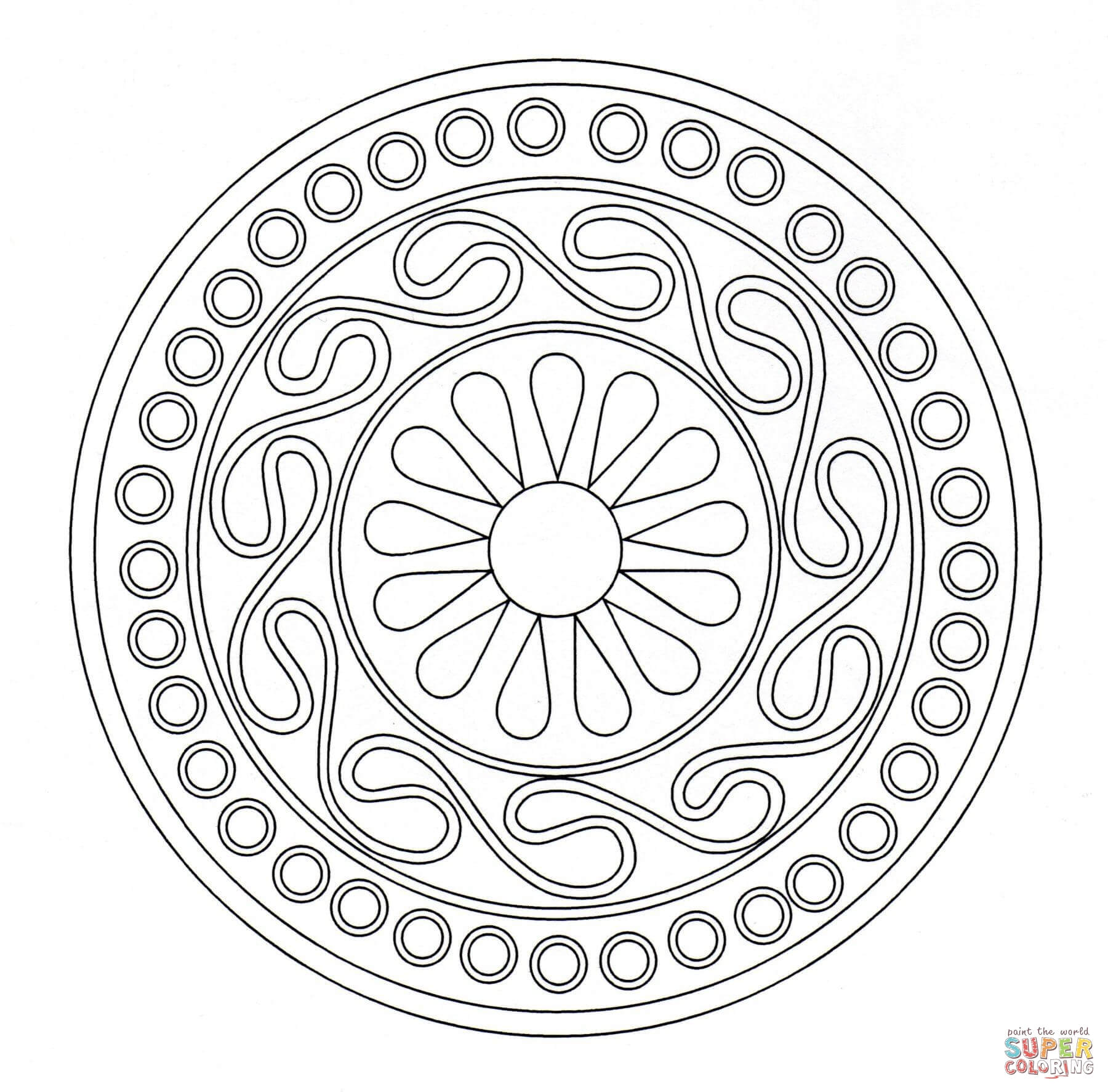 pattern coloring pages free coloring pages