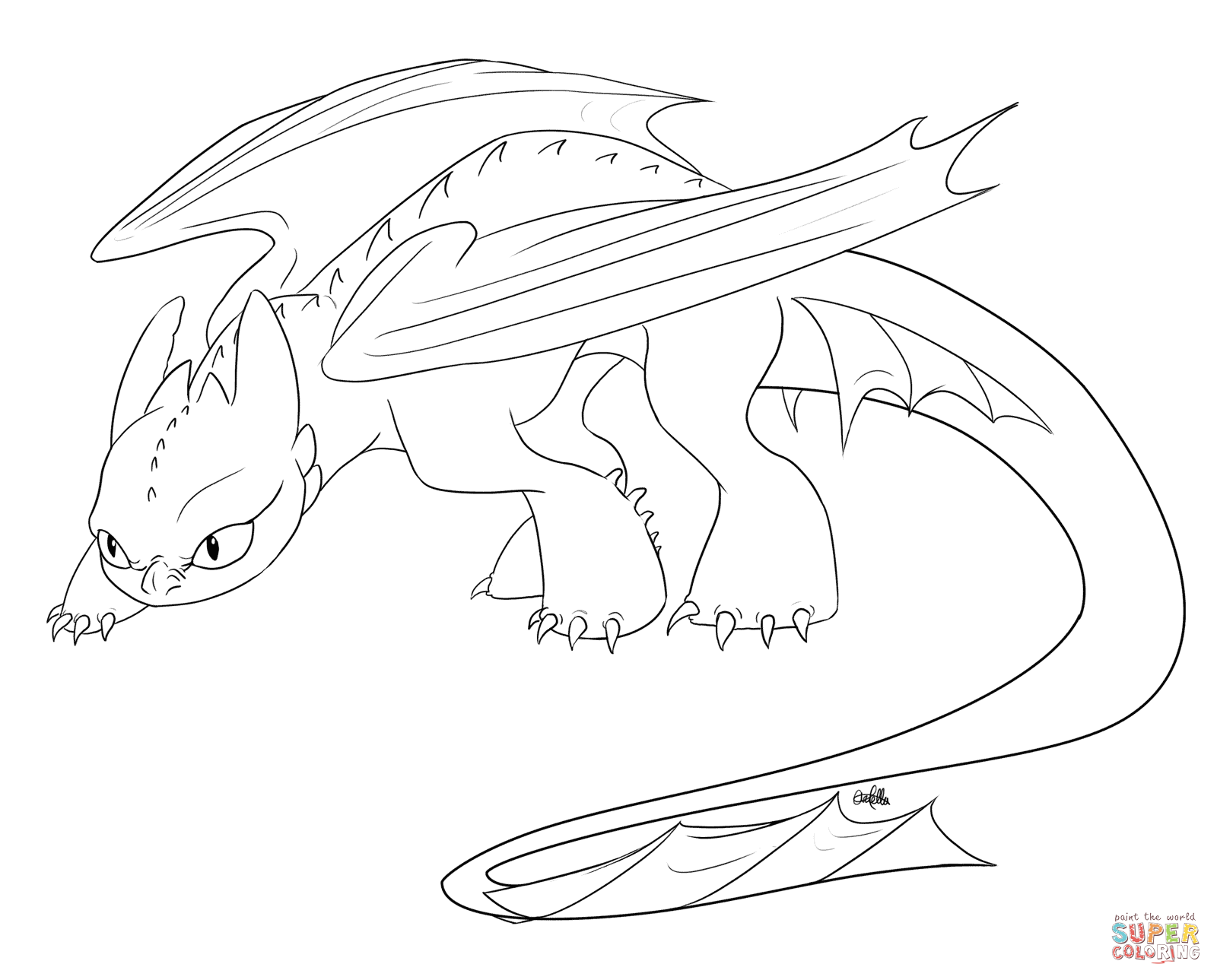 how to train your dragon coloring pages free coloring pages
