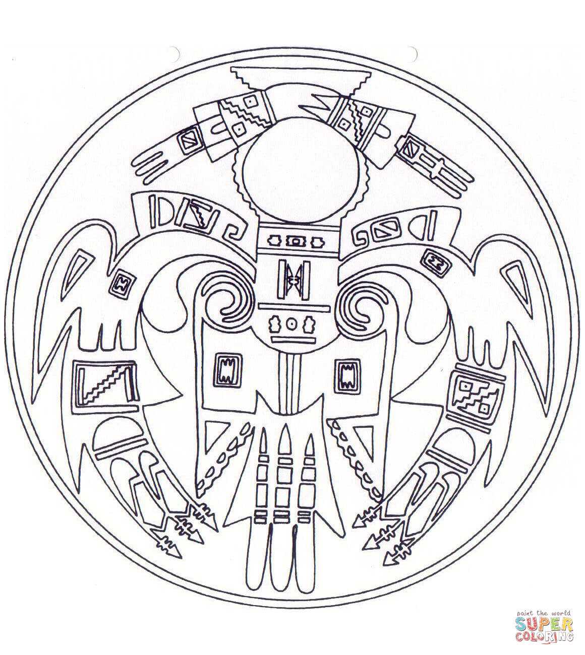 Native American Coloring Pages Printable Free Coloring Pages ...