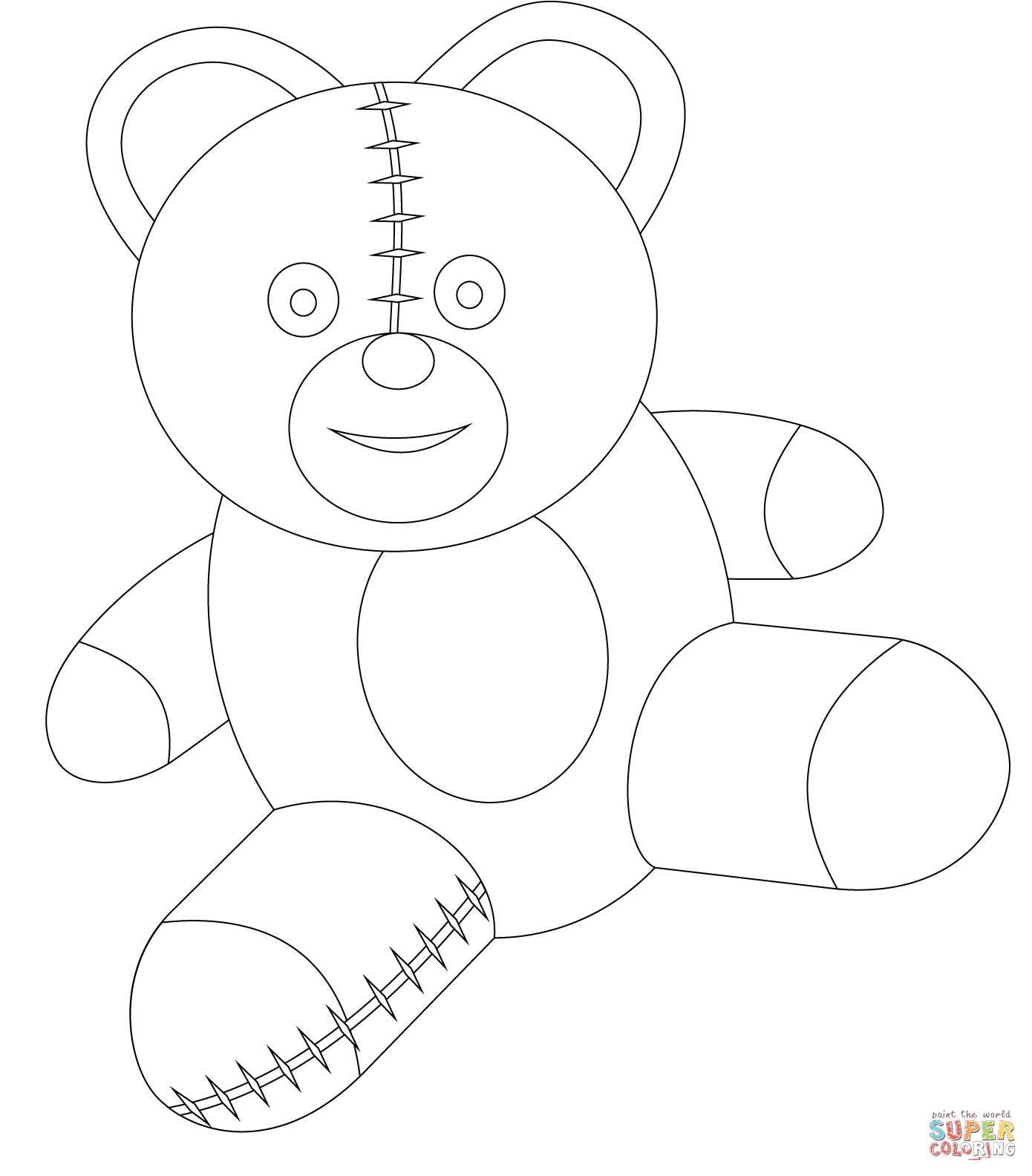 teddy bear coloring pages cute love teddy bear coloring pictures to