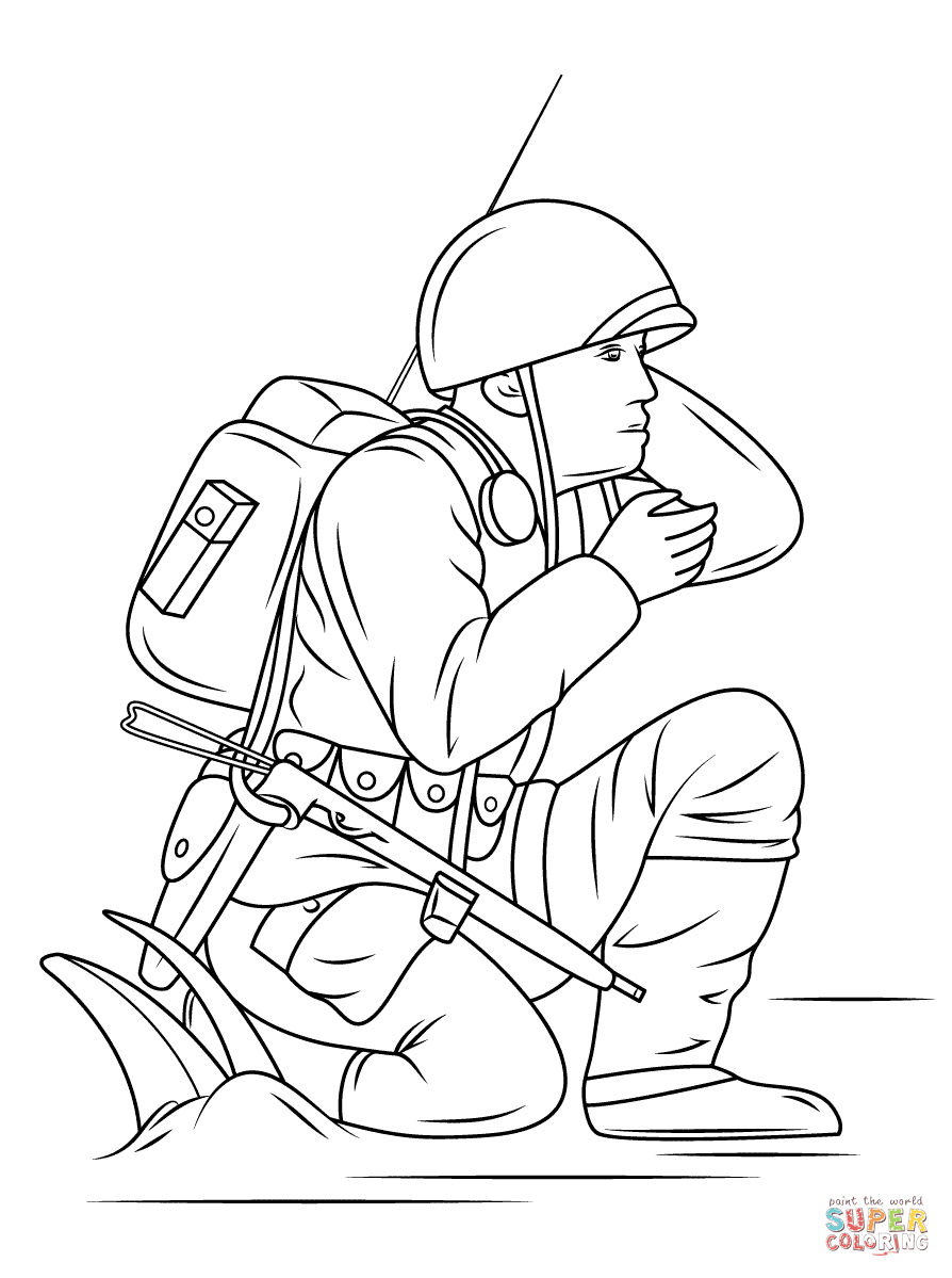 Free Coloring Pages Download : World War 2 Coloring Pages Free Coloring  Pages Of World War